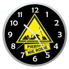 Zegar naścienny solid dla nieroba