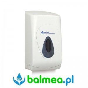 Pojemnik na papier toaletowy w listkach MERIDA TOP MINI - okienko szare