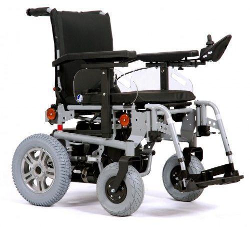 Wózek z napędem elektrycznym pokojowo terenowy SQUOD BASIC