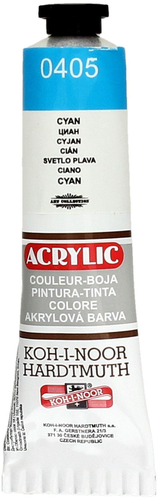 Farba akrylowa cyjan 40ml KIN 162710