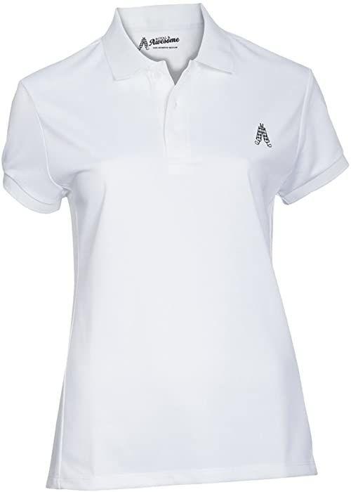 Royal & Awesome Damska koszulka polo Womens Polo biały biały L