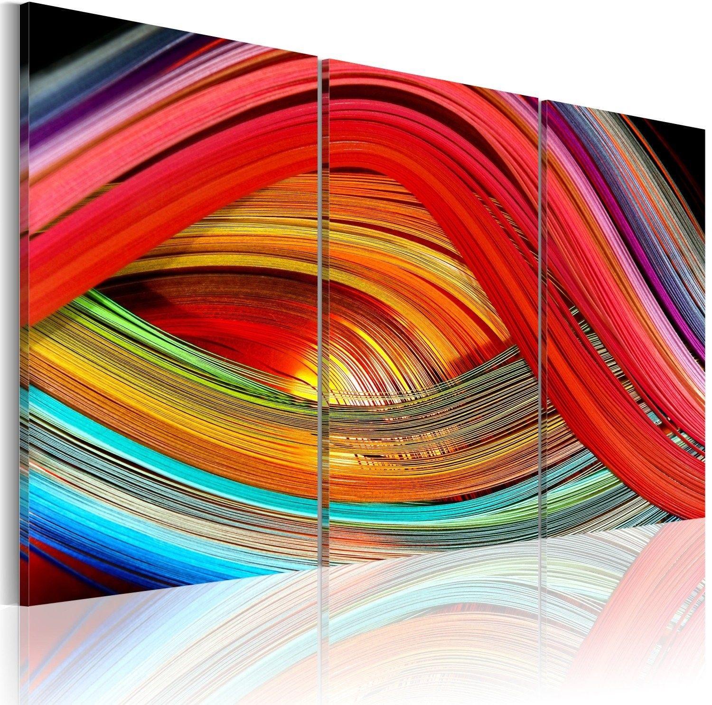 Obraz - abstrakcyjna tęcza