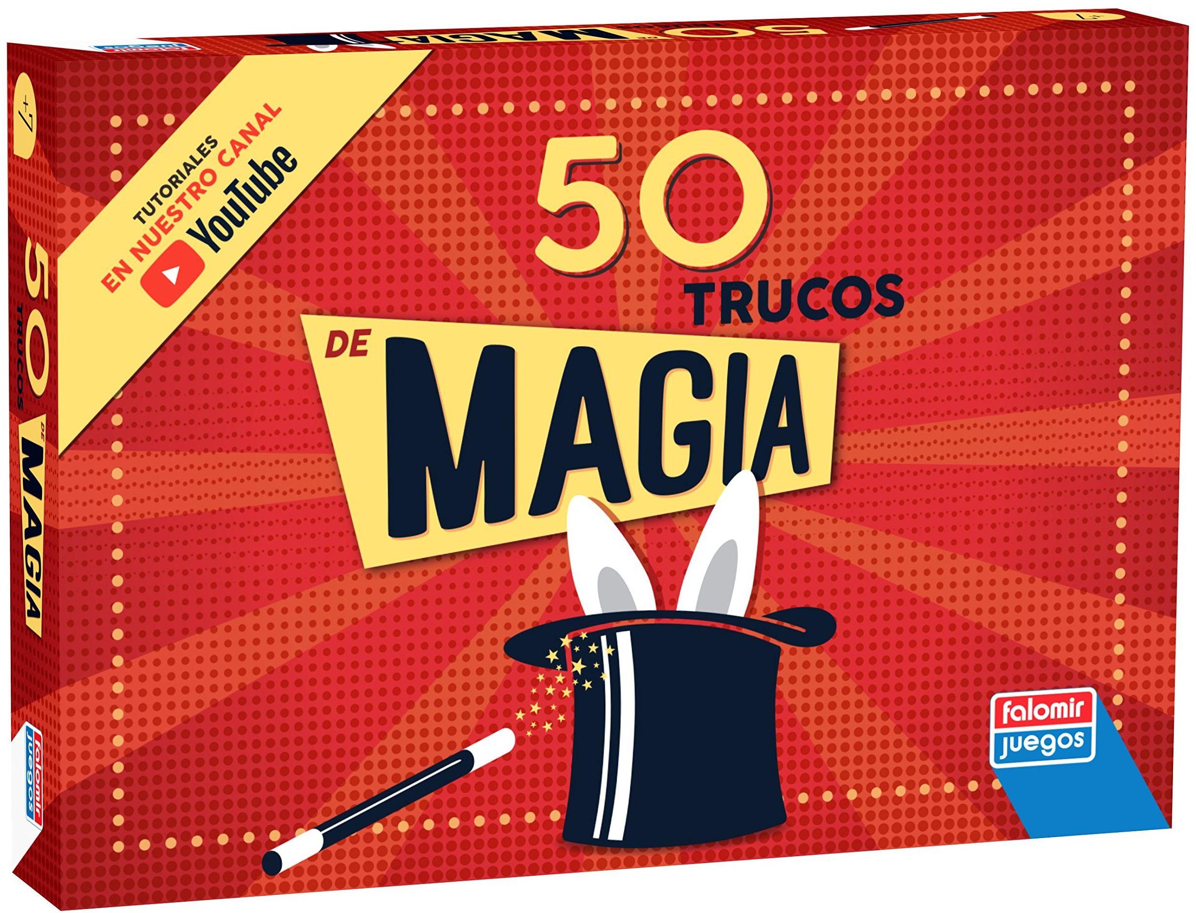 Falomir 646449 zestaw 50 sztuczek magicznych