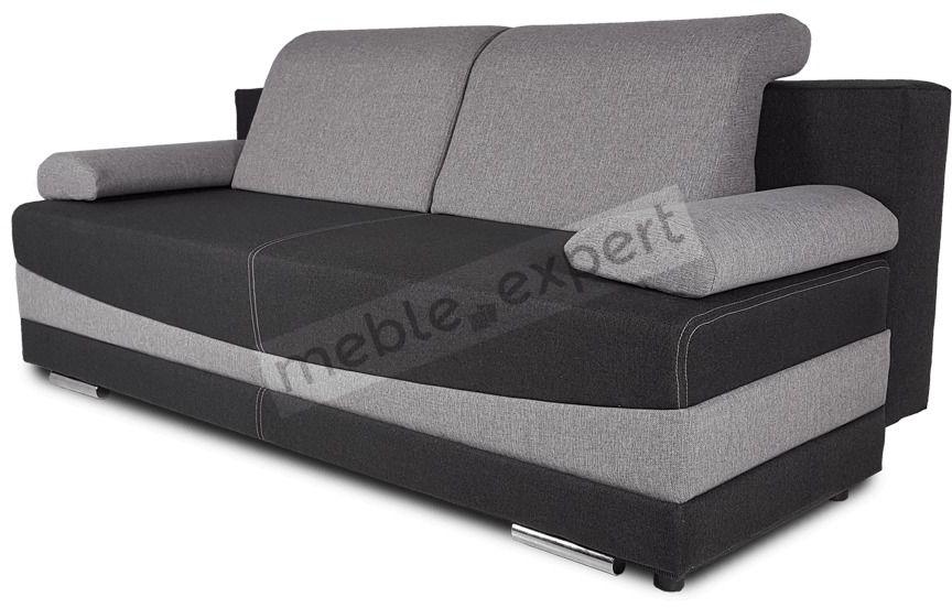 Sofa trzyosobowa z funkcją spania i pojemnikiem na wymiar - alabama