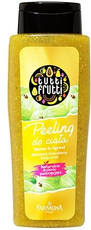 TUTTI FRUTTI Banan & Agrest peeling do ciała 100 ml