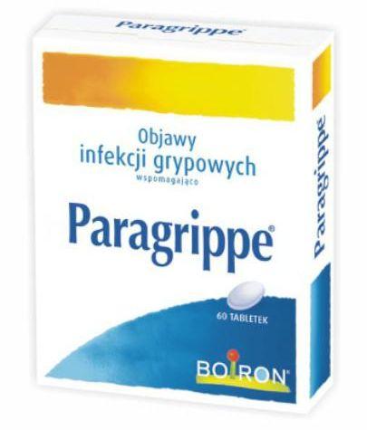 Boiron Paragrippe 60 tabletek do ssania