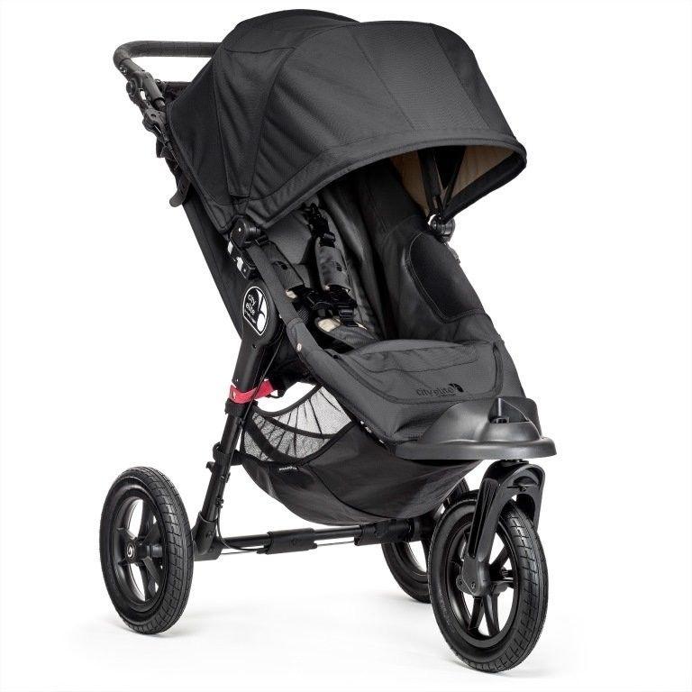 Wózek Baby Jogger City Select (srebrna rama) - Onyx