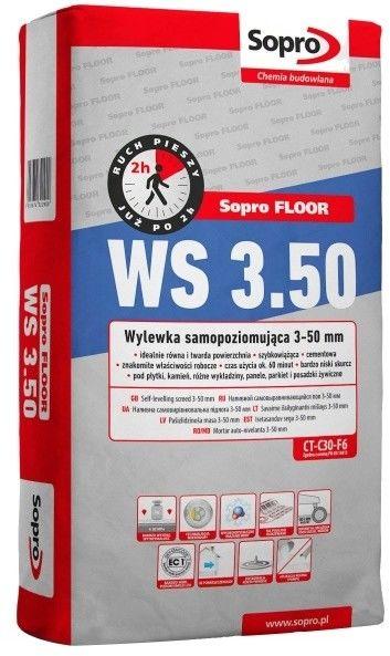 Wylewka samopoziomująca Sopro WS 3-50 mm 25 kg