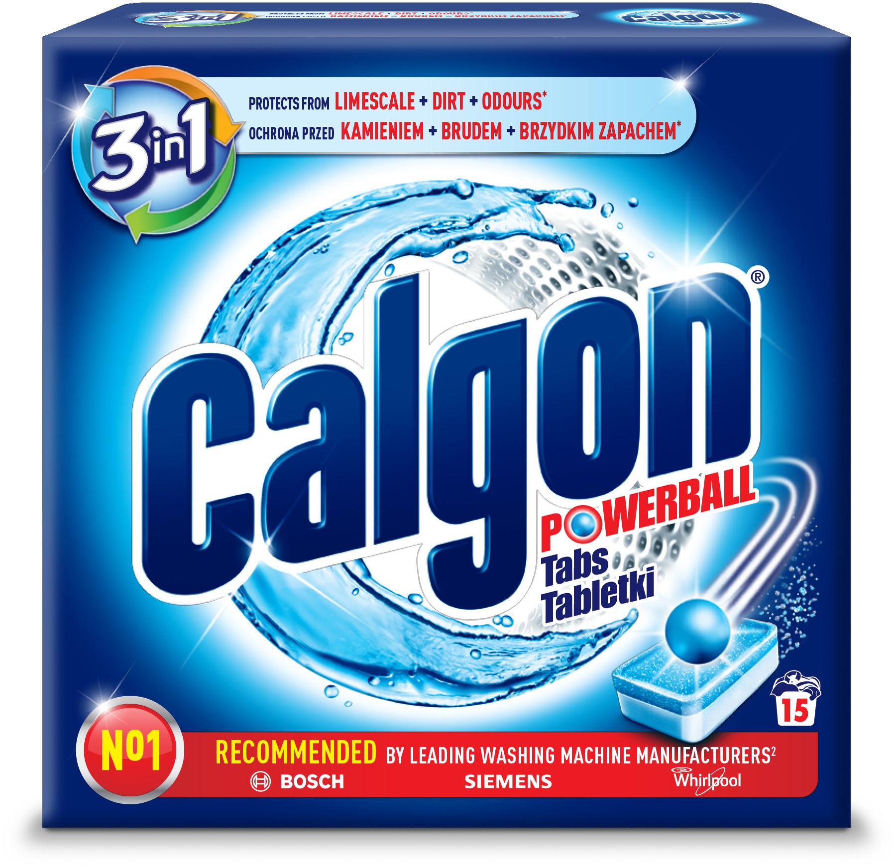 Calgon Tabletki Odkamieniacz do Pralki 15 szt