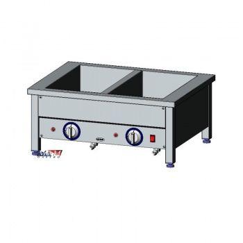 Bemar elektryczny stołowy 2xGN1/1 EGAZ BE-2NS