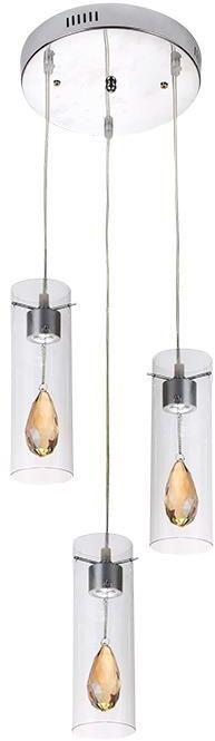 Nowoczesna lampa wisząca LED E376- Devi