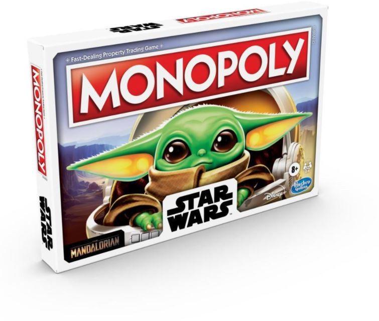 Monopoly Gra planszowa Star Wars The Child