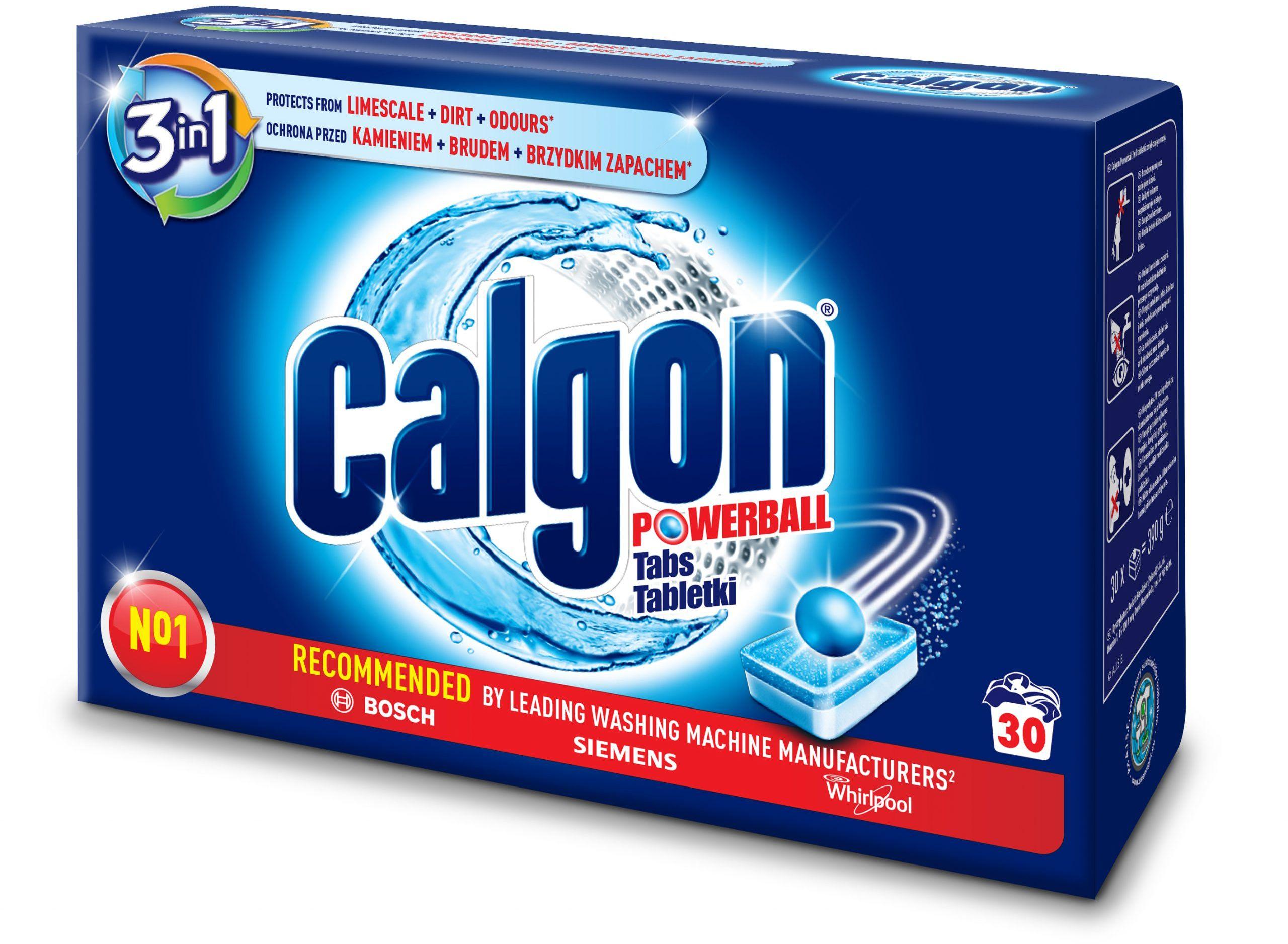 Calgon Tabletki Odkamieniacz do Pralki 30 szt