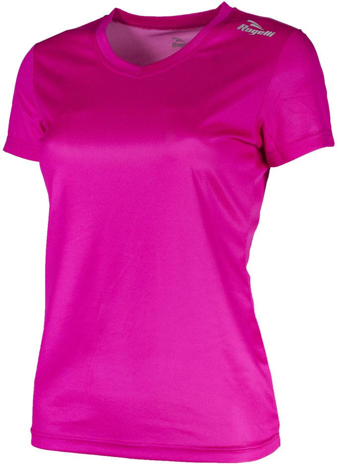 ROGELLI RUN PROMOTION 801.227 - damska koszulka do biegania, różowa Rozmiar: S,promoption-lady-801.2270pink