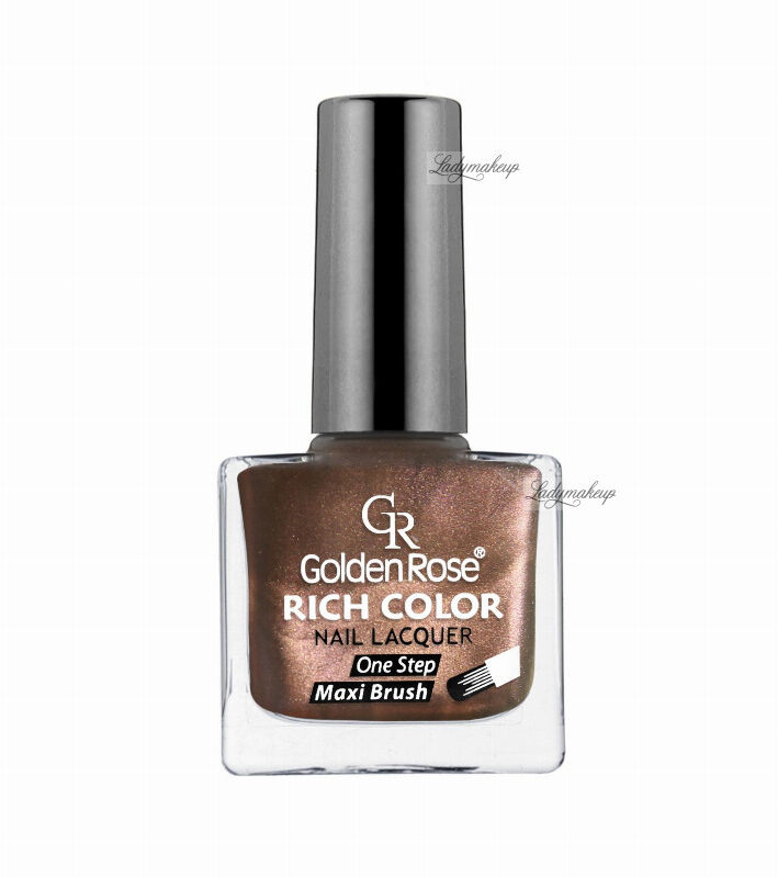 Golden Rose - RICH COLOR - Nail Lacquer - Długotrwały lakier do paznokci - 33