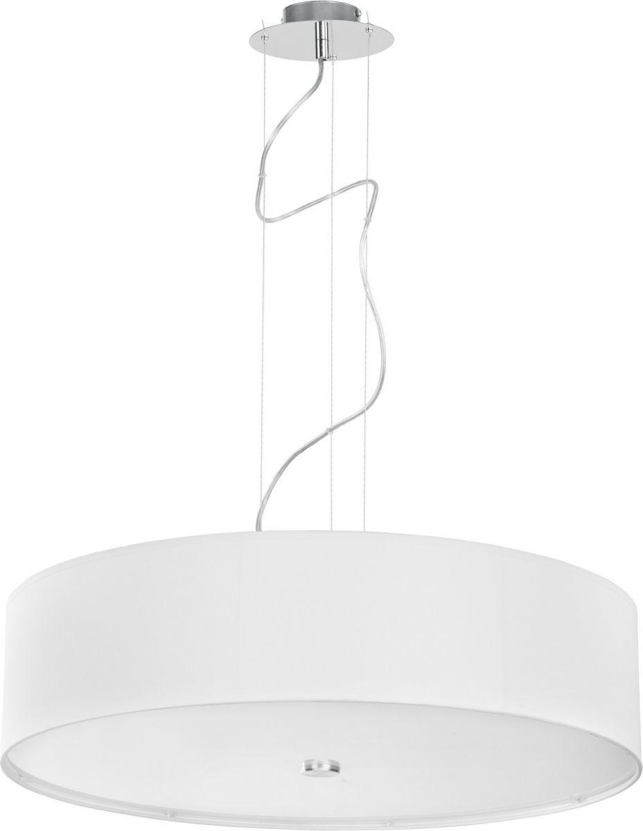 Lampa wisząca Viviane 6772 Nowodvorski Lighting biała okrągła oprawa w nowoczesnym stylu