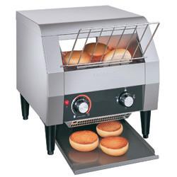 Toster z przenośnikiem taśmowym 6 tostów/min. 368x416x(H)387mm 1,94kW