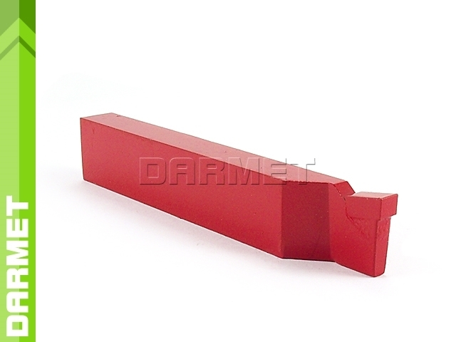Nóż tokarski przecinak prawy NNPa ISO7, wielkość 1610 H10 (K10), do żeliwa