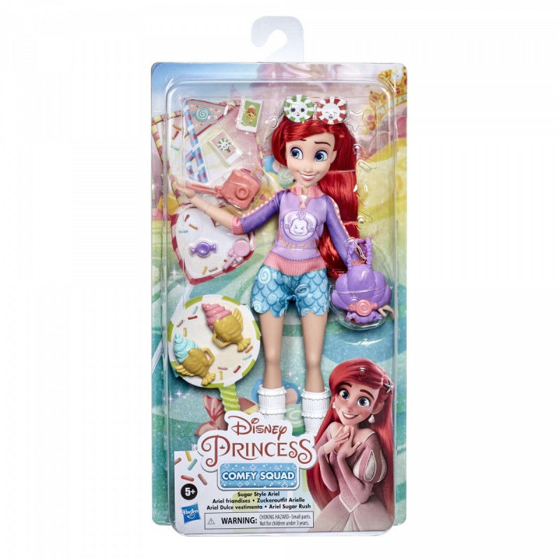 Lalka Disney Princess Comfy Squad Przygody Księżniczki Ariel