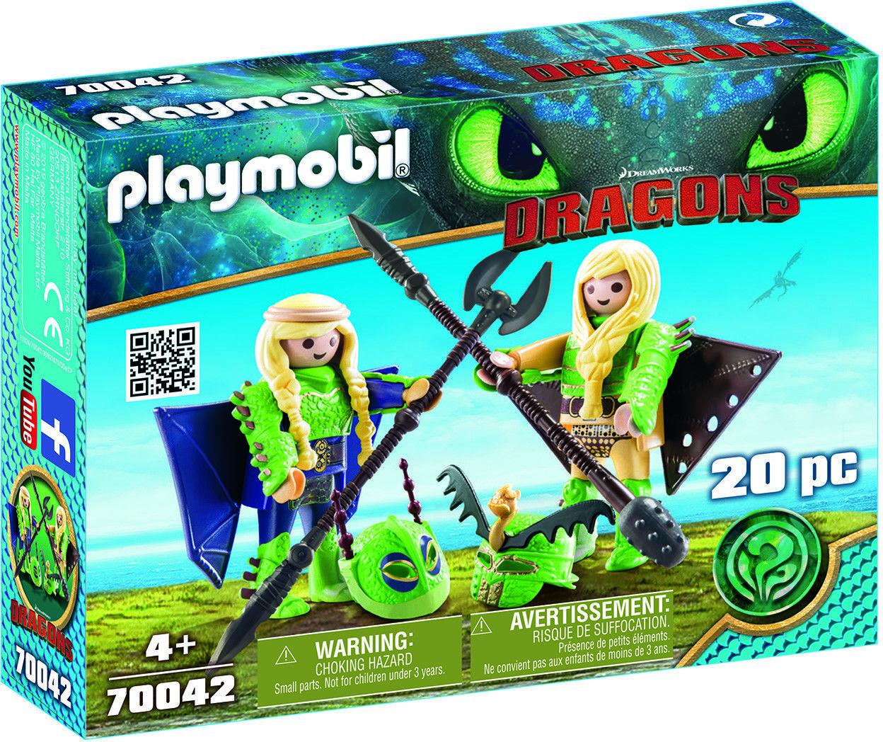 Playmobil - Mieczyk i Szpadka w zbroi do latania 70042