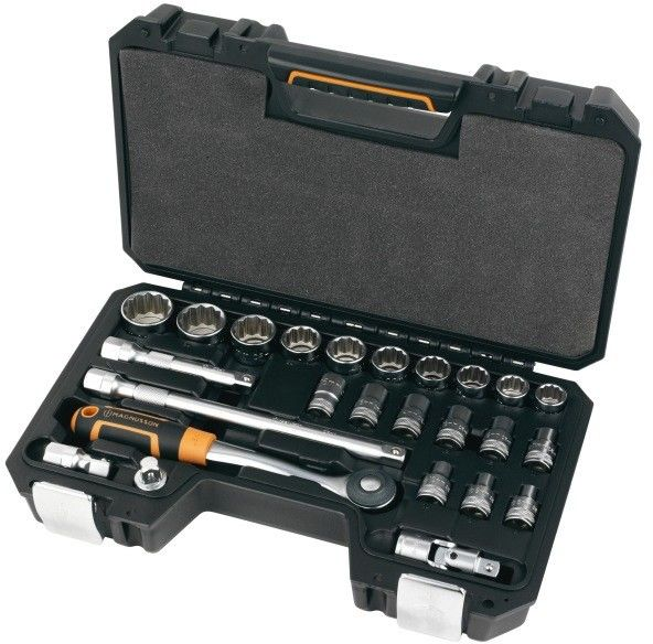 Zestaw kluczy nasadowych Magnusson 1/2'' 25 szt.
