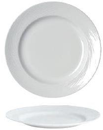 Talerz płytki porcelanowy SPYRO