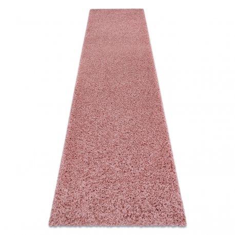 Dywan, Chodnik SOFFI shaggy 5cm różowy - do kuchni, przedpokoju, na korytarz 60x100 cm