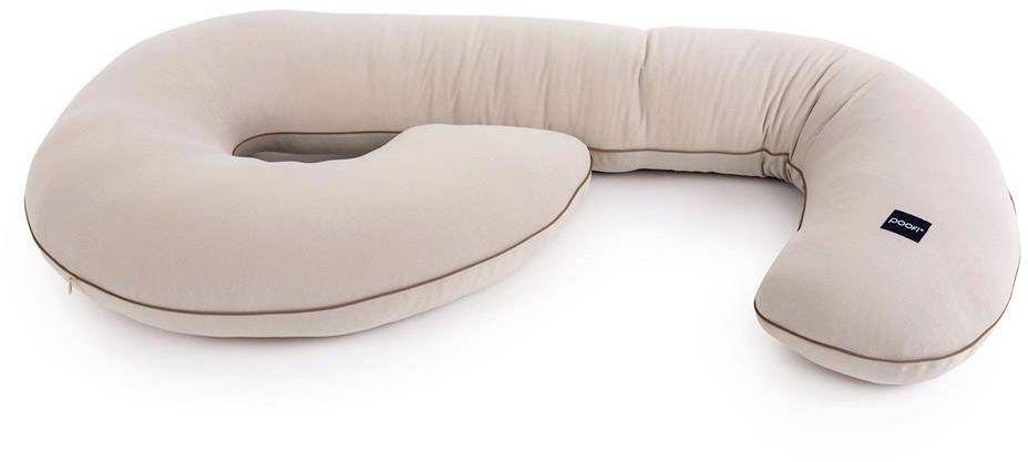 Poduszka ciążowa organic kolor: nugat, poofi