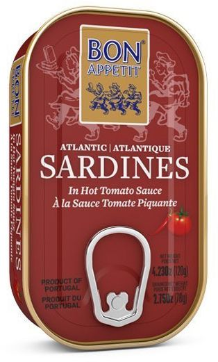 Sardynki pikantne w pomidorach 120g Bon Appetit