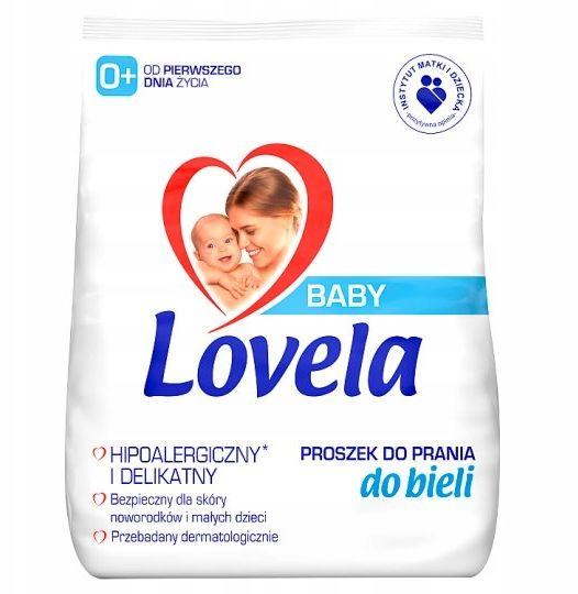 LOVELA BABY Proszek do Prania White 1,3 kg