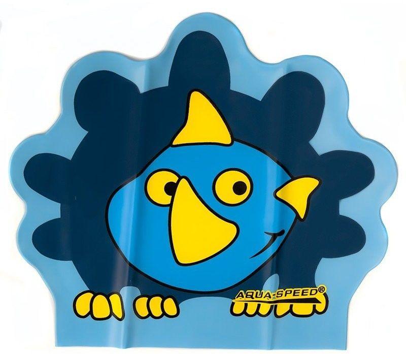 Czepek pływacki AquaSpeed dla dzieci Zoo Dino