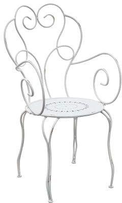 Krzesło metalowe LUNA BELLDECO
