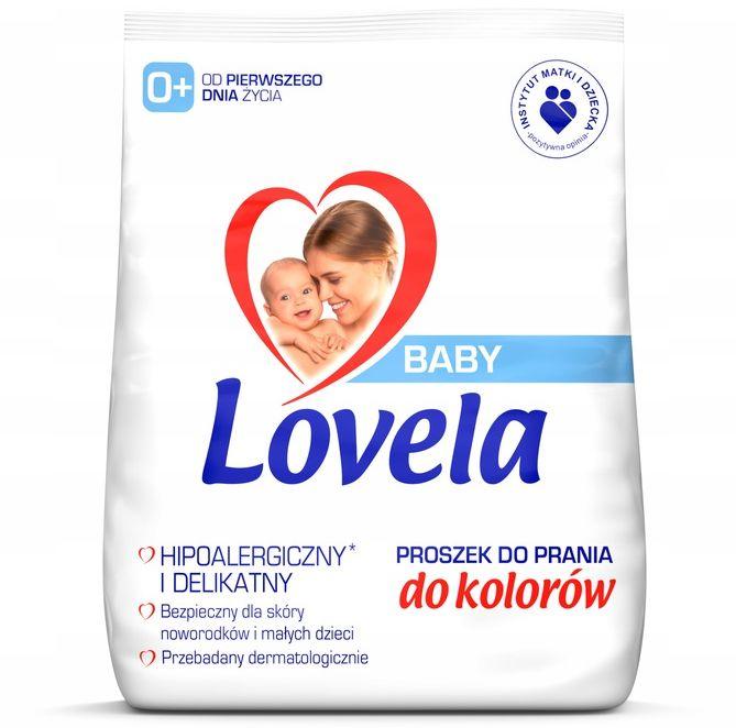 LOVELA BABY Proszek do Prania Color 2,7 kg