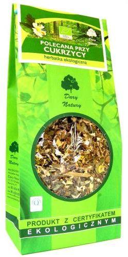 Herbatka polecana PRZY CUKRZYCY BIO 150g Dary Natury
