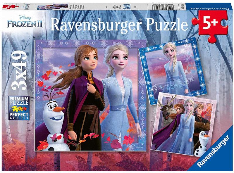 Ravensburger - Puzzle Frozen II 2 x 24 elem. 050109