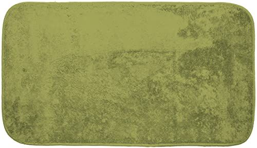 Gemitex Merino dywan 50 x 80 cm, bardzo miękki, poliester, zielony
