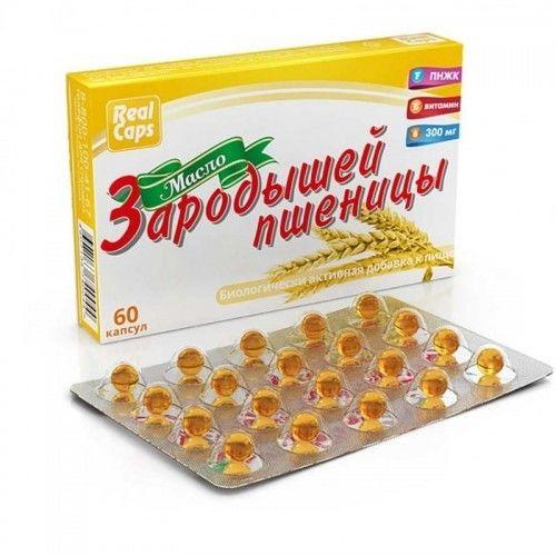 Olej z kiełków pszenicy w kapsułkach 60 szt