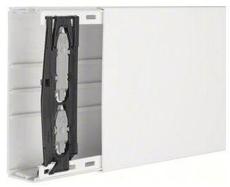 Hager LF6019009010 prosta korytko kablowe biała korytko kablowe (prosta rynna kablowa, 9060 mm , PCW, biała, 190 mm, 60 mm)