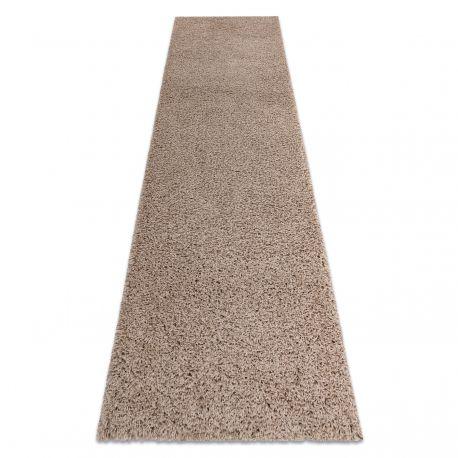 Dywan, Chodnik SOFFI shaggy 5cm beż - do kuchni, przedpokoju, na korytarz 60x100 cm