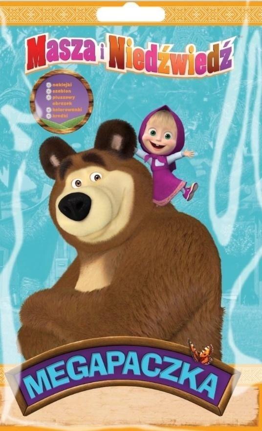 Masza i Niedźwiedź. Megapaczka