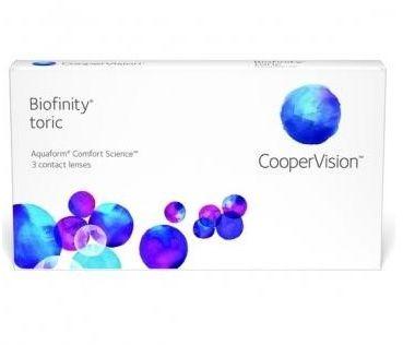 Biofinity Toric 3 szt. TANIE I MARKOWE SOCZEWKI KONTAKTOWE