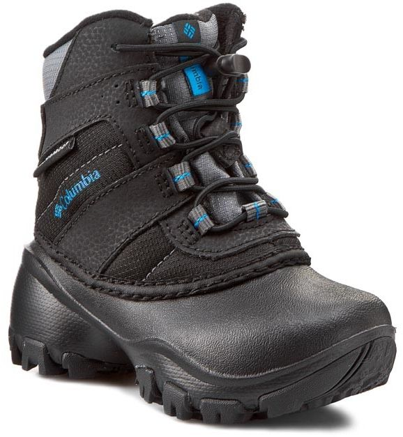 Trekkingi COLUMBIA - Childrens Rope Tow III Waterproof BC1322 Black/Dark Compass 010