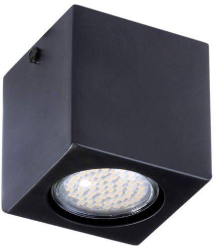 Lampa sufitowa plafon PIXEL NEW STALOWY 1 czarny 32621