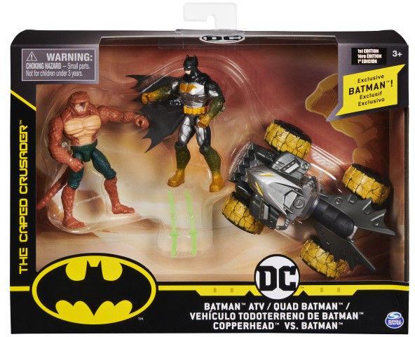 Zestaw Figurek BATMAN Motor Batcycle