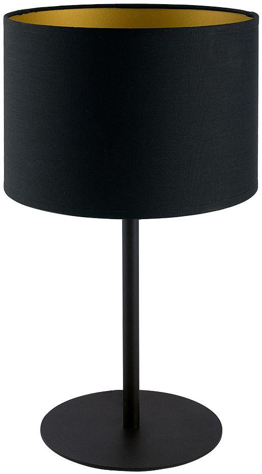 Lampa stołowa Alice 9091 Nowodvorski Lighting czarno-złota oprawa w nowoczesnym stylu