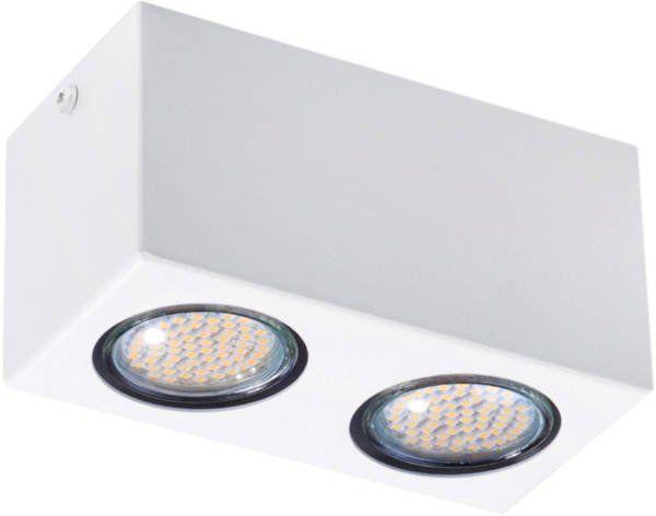 Lampa sufitowa plafon PIXEL NEW STALOWY 2 biały 32622