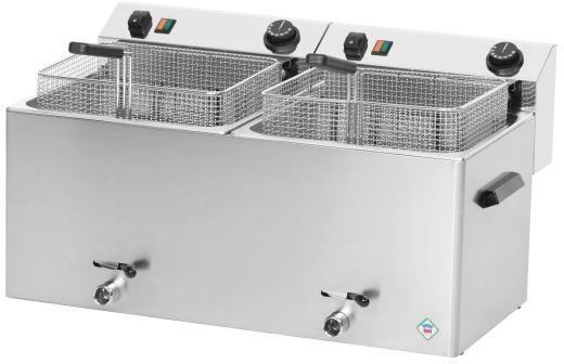 Frytownica elektryczna 2-komorowa FE-1010T