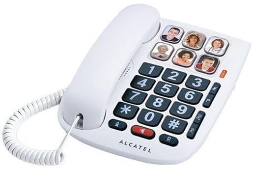 Alcatel TMAX 10 - telefon przewodowy dla seniora