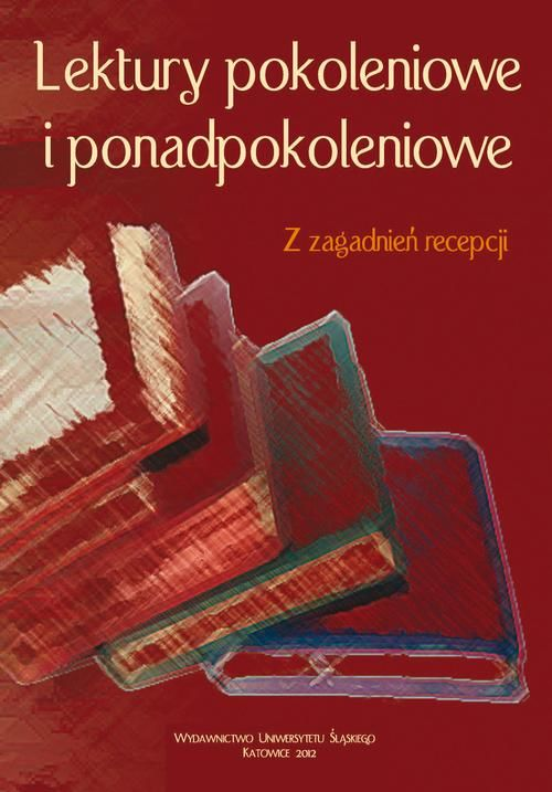 Lektury pokoleniowe i ponadpokoleniowe - No author - ebook