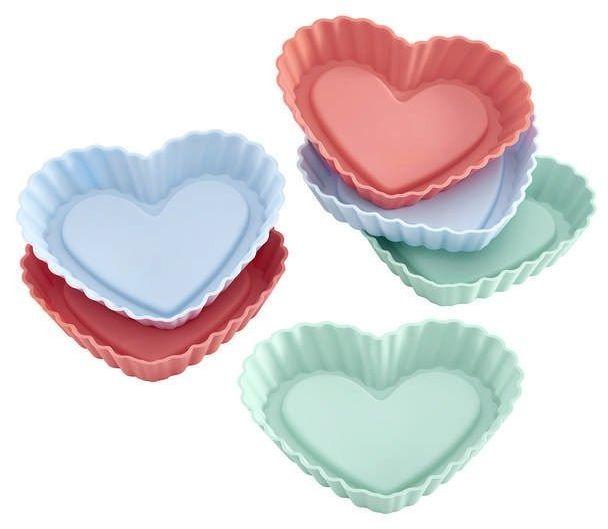 Lurch - flexiform - 6 foremek na ciasteczka, serca